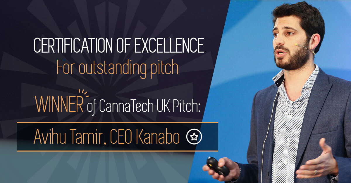 Introducing CannaTech UK's Winner of Cannabis Innovation Pitch Event!