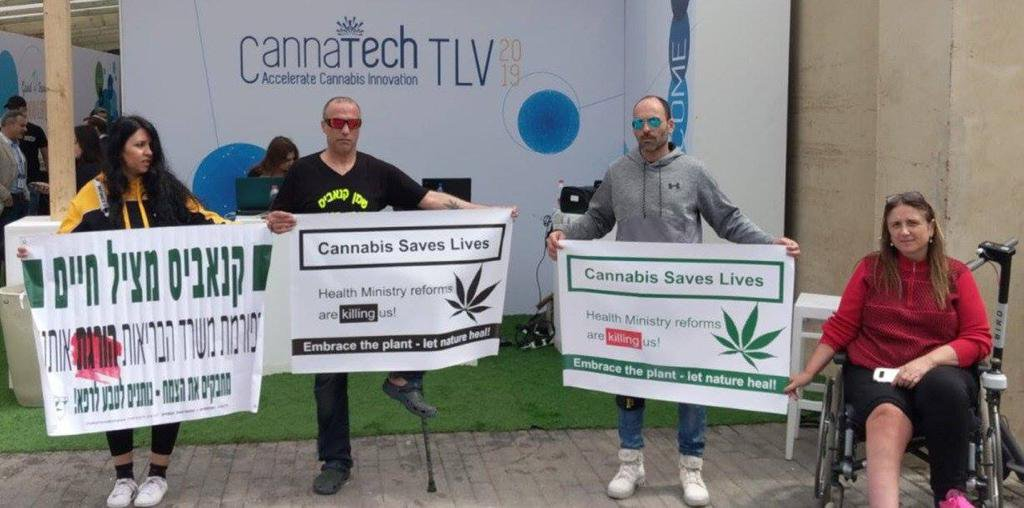 Israeli medical cannabis activists