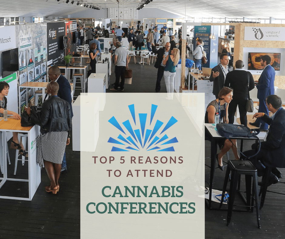 Top 5 Reasons to Attend Cannabis Conferences